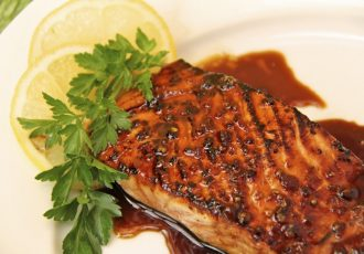 HoneyCorianderSalmon