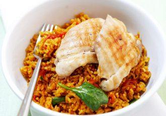 spiced-chicken-pilaf