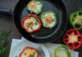 eggs-peppers